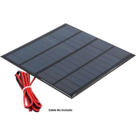 Placa solar Policristalina 12v. 410mAh