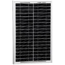Panel solar Policristalina 12v. 20w 1100mAh