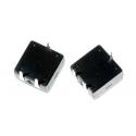 Interruptor de pulsador 12x12x11.5mm On-Off-Off 3pin