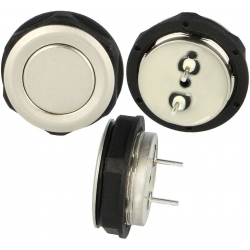 Pulsador de panel Antivandalos SCHURTER 19mm 2800