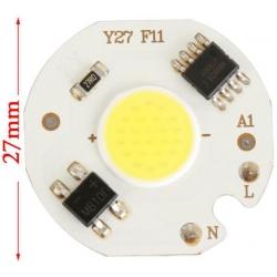 Modulo Led Cob Chip On Board 5w 220v
