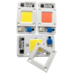 Modulo Led COB Chip On Board 50w 220v