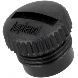 Tapa de protección de plástico para conectores, AMPHENOL