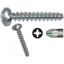 Micro Tornillos Plasticos 2.2mm cabeza Redonda pozidriv
