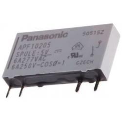 Rele Panasonic APF 6 A Extra Plano 5v y 12v
