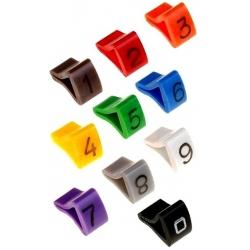 Marcadores numéricos para cables