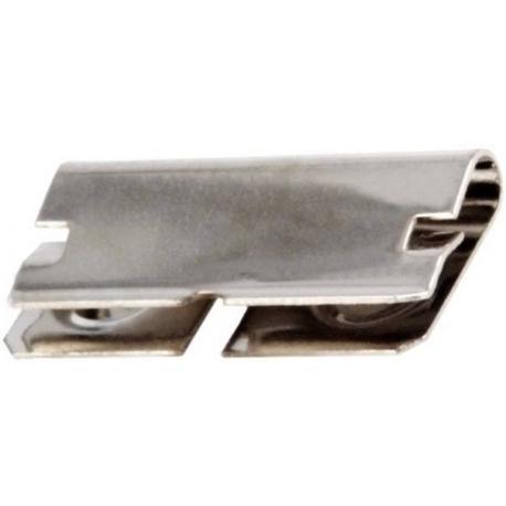 Clips Porta-Pilas Doble R3, LR03, AAA Plano