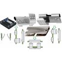 Clips Porta Pilas y Baterías Contactos Dobles R3, LR03, AAA