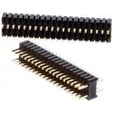 Tiras de Pin Machos Rectos de 1.27mm