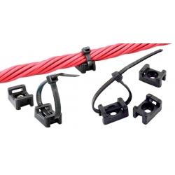 Soportes de Tornillos para Bridas y Cables