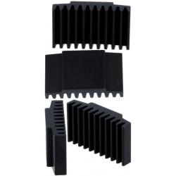 Disipador Térmico de Peines 30x17x7.5mm