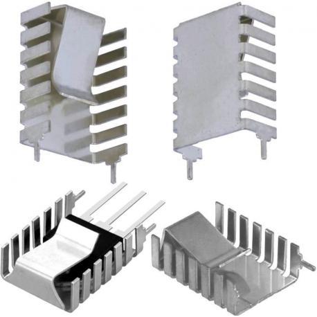 Disipador Térmico Aluminio Extrusionado en U U32x20x9mm