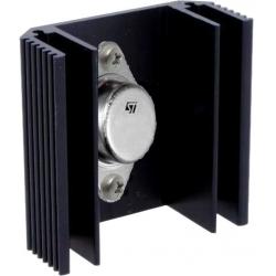 Disipador Térmico de Aletas tipo U de 50x21mm para TO3