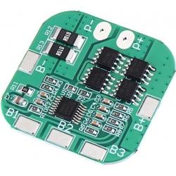 PCM 4S para Baterías de Litio 14.8v 8-12A. HX4S