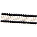 Tiras de Pin Macho Largo de 18mm, Recto 2.54mm