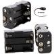 Portapilas baterías 6 x AA, LR06, 14500 clip