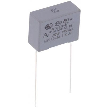 Condensador Capacitor 220nF 275v X2