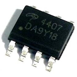 Transistor AO4407 SOP8 P-Channel Mosfet