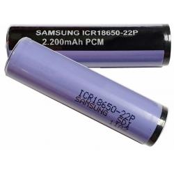 Batería Litio Samsung 18650-22P 3.7v.Protegida