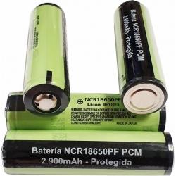 Bateria Litio NCR18650PF 3.7v 2.900mA Protegida