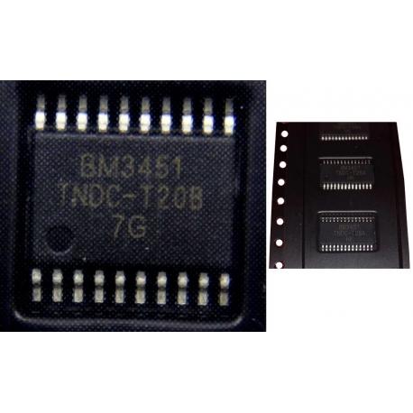 BM3451 Gestor de carga de baterías de Litio