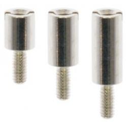 Separadores cilíndricos metálicos M3 en un lado