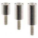 Separadores de Metal M3 Cilíndricos Rosca 1 Lado