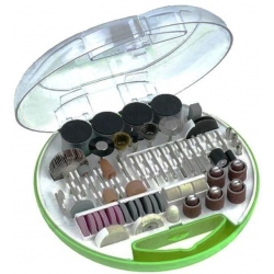 Fresas, brocas discos y cepillos Abrasivos Juego de 180 Piezas