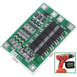 PCM 3S para Baterías de Litio 11.1-12.6v. 40A V2.3 Balanceado