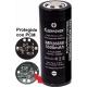 Batería 26650 3.7v 5.500mA KeepPower Recargable
