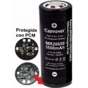 Baterías de Litio 26650 3.7v 5.500mA KeepPower Recargable