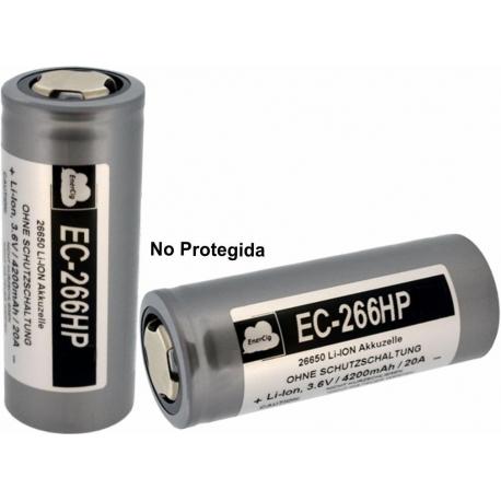 Batería 26650 3.7v 4.200mA Enercig