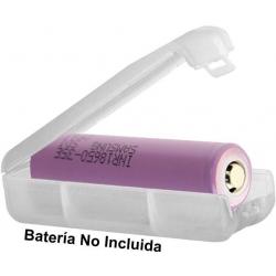 Caja protección de Baterías 1x18650
