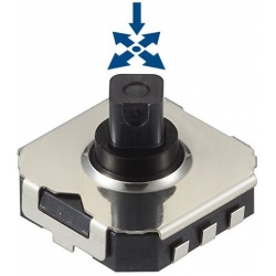 Micro Joystick Switch SMD 7.5x7.5mm SKRHA