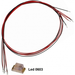 Diodo Led Smd 0603 con cables