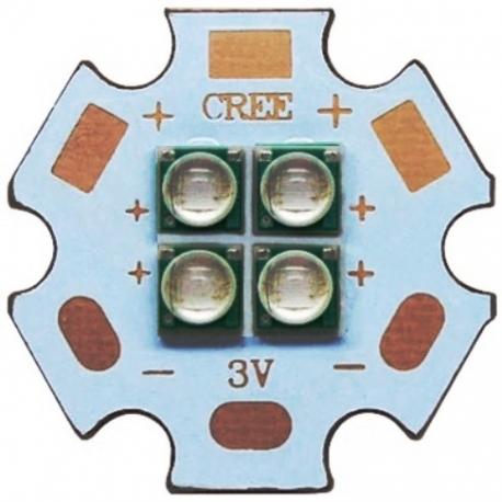 Led SMD 3535, XPE 4 Led 10w UV 3V