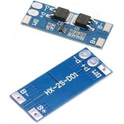 PCM 2S para Baterías de Litio 7.4v 8-15A