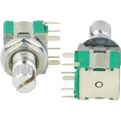 Conmutador Giratorio miniatura de Circuito Impreso por impulsos PS10