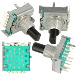 Conmutador Giratorio de Circuito Impreso 4 o 8 posiciones RS1611
