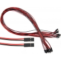 Conector Dupont Hembra-Hembra Cable 200mm 2 a 6 pin