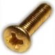 Tornillo dorado 13mm