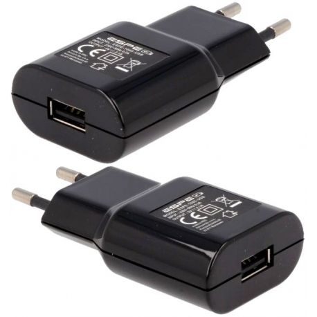 Cargador enchufe USB para Litio 220v-5v.2.1A