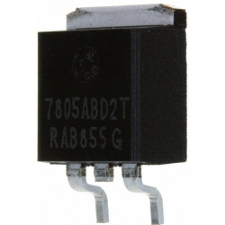 Regulador de tensión positiva L7805ACD2T D2Pack