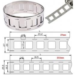 Contactos de Níquel para Pack de Baterías 26 y 27mm