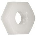 Tuercas de Nylon Blancas M2, M3,M4, M5, M6