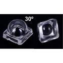 Mini Lente Cúpula de 8x8mm para Led SMD 5050
