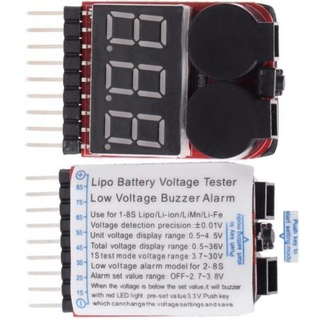 Monitor 3 dígitos Led y 2 buzzer