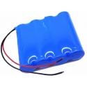 Pack de Baterias Samsung INR18650 de 2600mAh