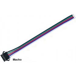 Conectores cableados JST-SMP 5pin Macho