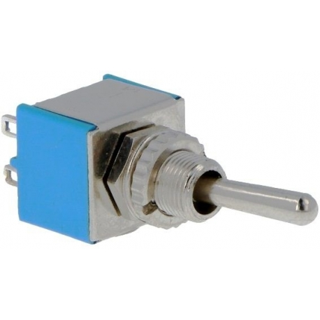 Interuptor de palanca vertical 2C-2pos.